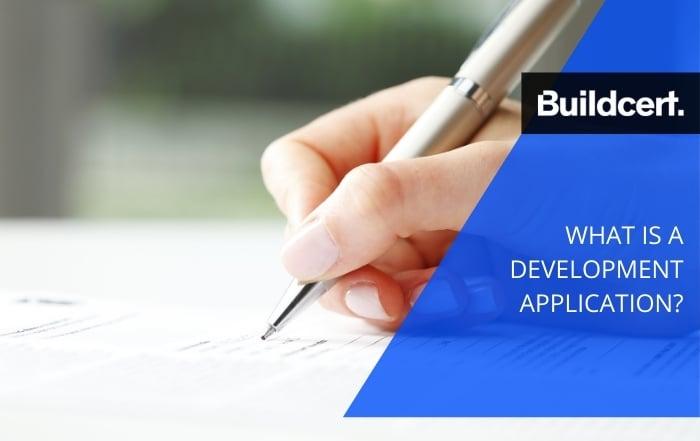 What is a Development Application (DA) - Buildcert