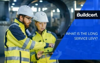 buildcert long service levy