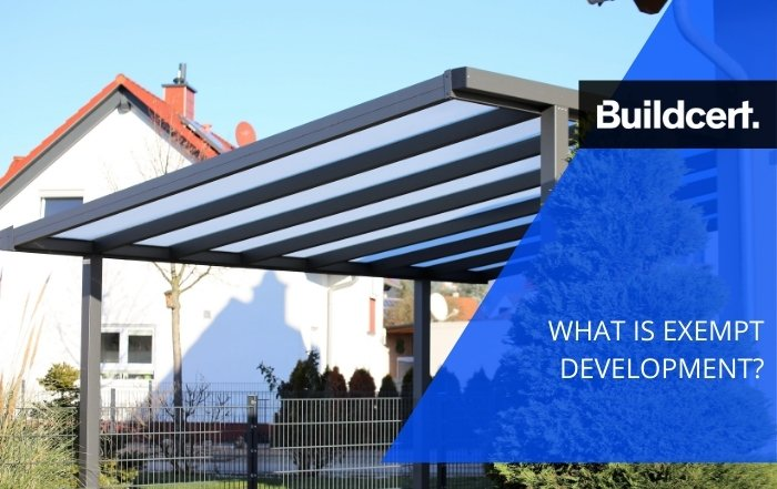 What is Exempt Development? - Buildcert